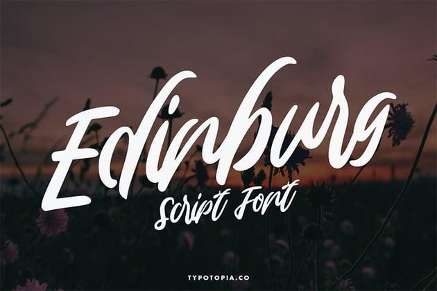 Edinburg (Popular Script Fonts for Cricut)