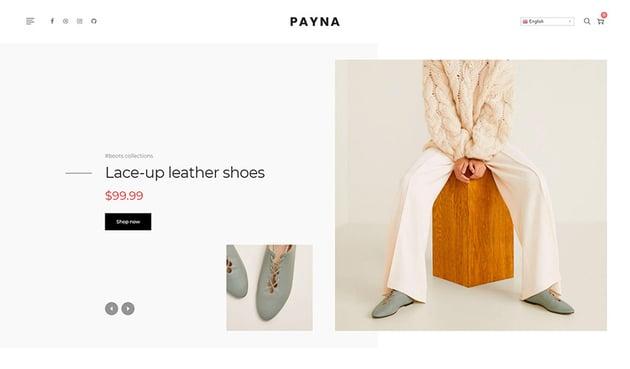 Payna  Clean Minimal Shopify Theme