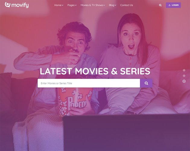 Movify  Movie and Cinema Theme