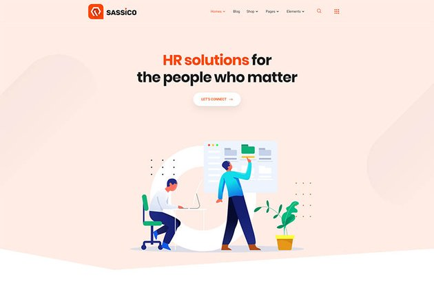 Sassico Multipurpose Saas Startup Agency WordPress Theme