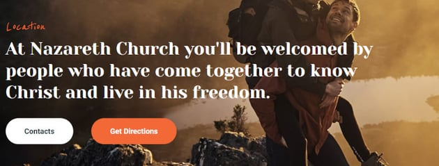 Nazareth  Church  Religion WordPress Theme