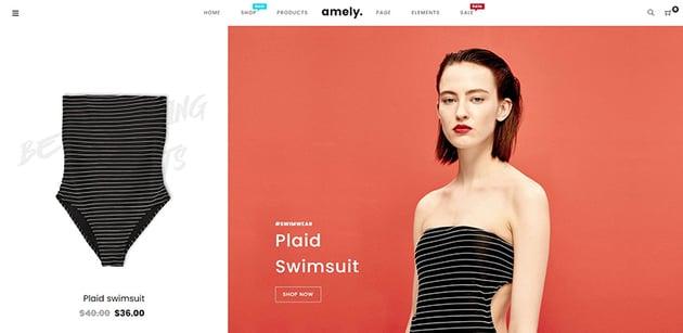 Amely - Clean  Modern Shopify Theme