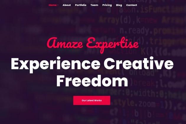 Anno - One Page Portfolio WordPress Theme