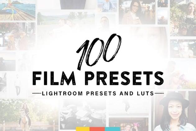 100 Lightroom Film Presets