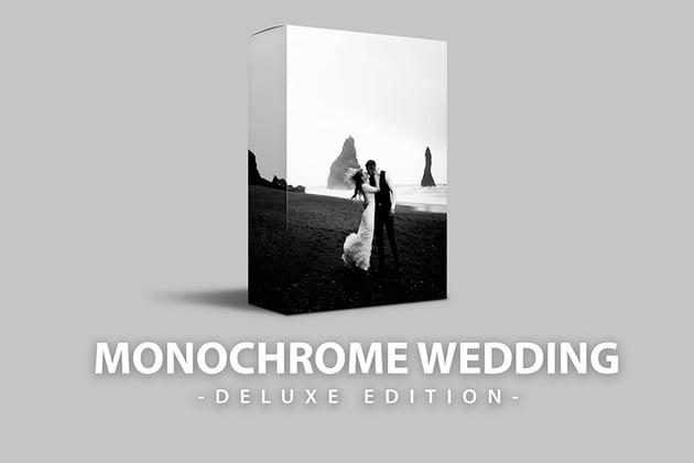 Monochrome Wedding Lightroom Presets