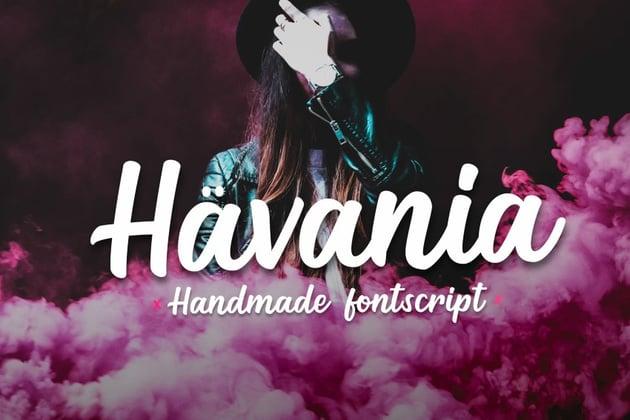 Havania - Script Font