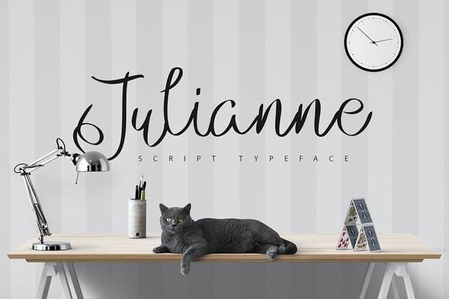 Julianne - Script Font