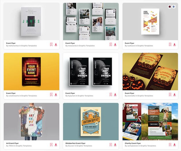 Enjoy unlimited flyer design templates with an Envato Elements subscription.