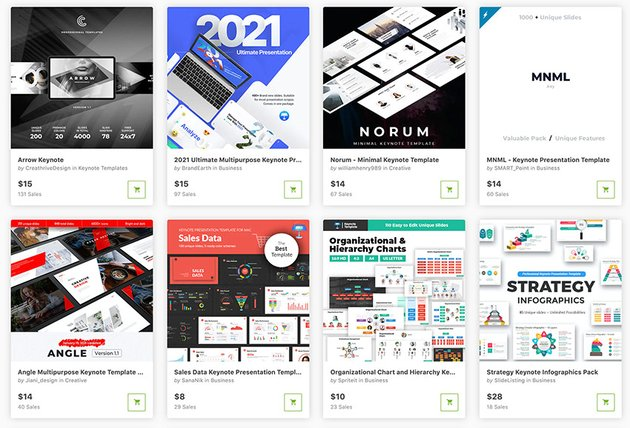 These are some of the best Keynote templates you can buy in 2021 from GraphicRiver.