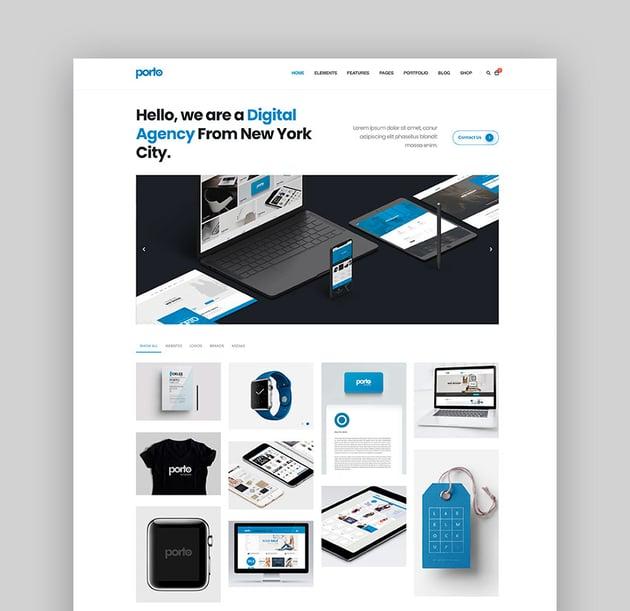 Porto - HTML5 Responsive Template