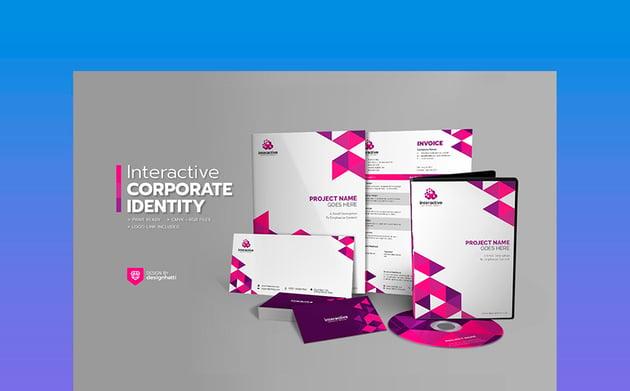 Interactive Corporate Branding Identity Pack