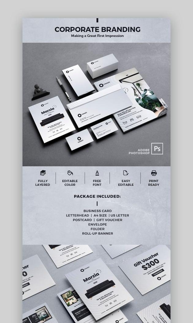 Modern Branding Package Template