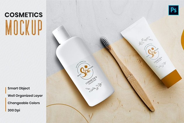 Neutral Cosmetic Label Templates From Envato Elements