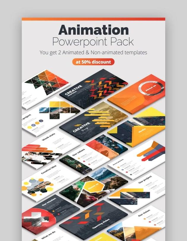 Creative Pitch Deck Infographics