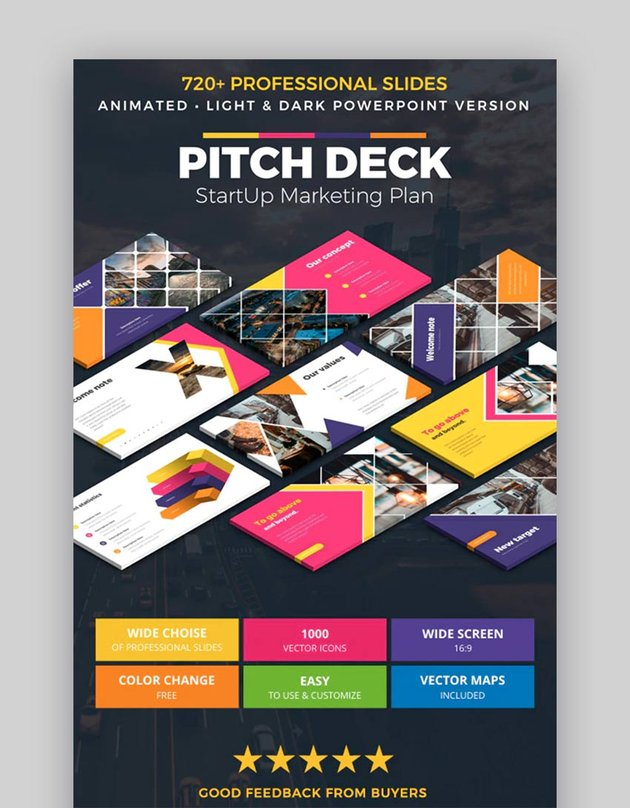 Pitch Deck Infographics Animated