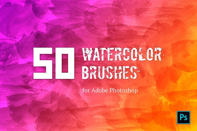Watercolor Brush Set (ABR)