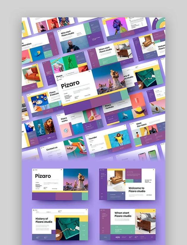 Pizaro – Business PowerPoint Template