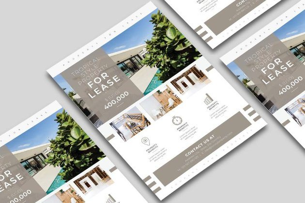 Real State InDesign Flyer Template