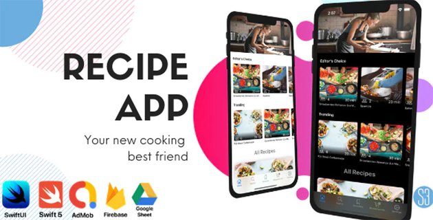 Recipe App - iOS Swift Template