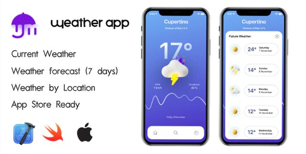 Uhmweather - iOS Weather App Template