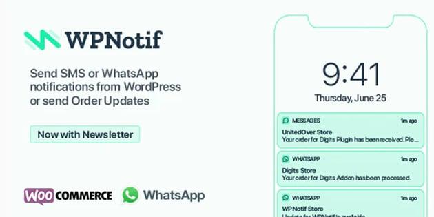 WPNotif - WordPress SMS & WhatsApp Message Notifications