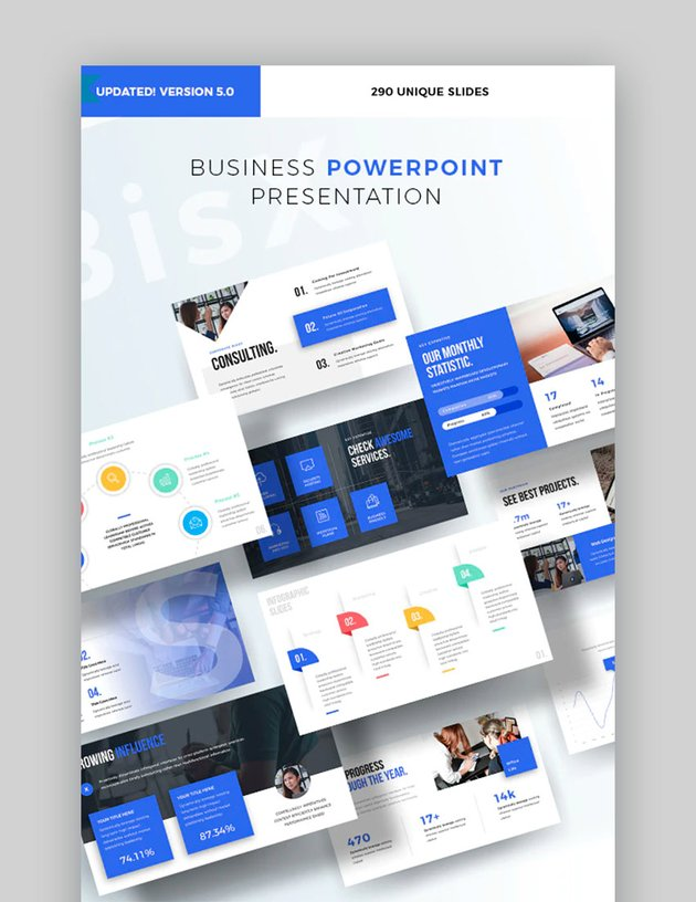 Corporate Business Powerpoint Design