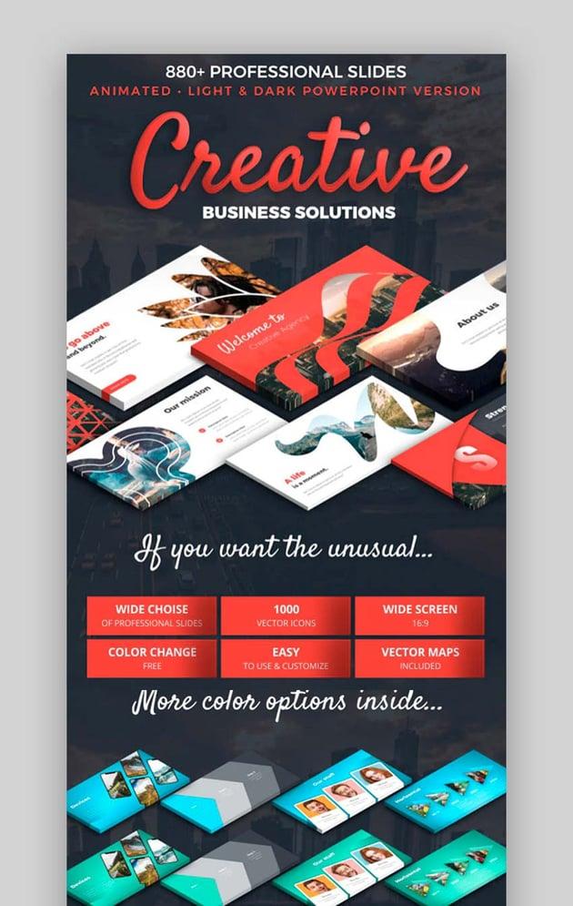 Creative Business Plan PPT Format