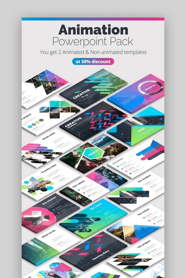 Creative Pitch Deck Infographics PPT Format