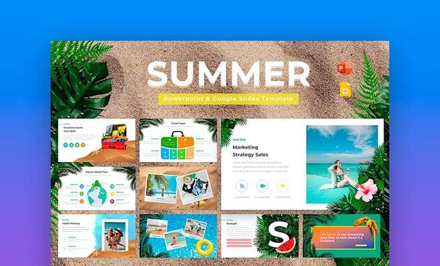Summer Google Slides Template