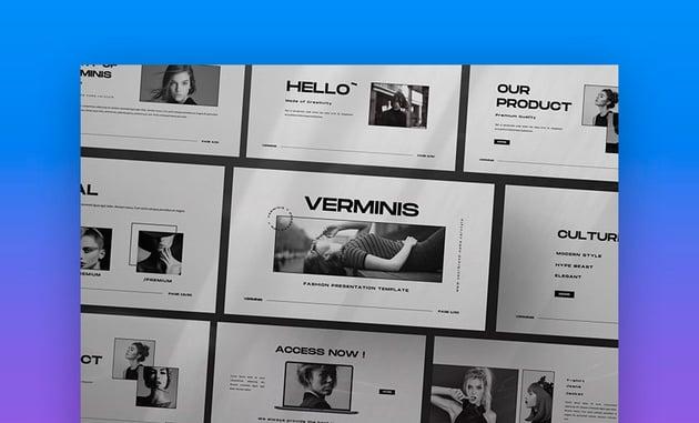 Verminis Creative Powerpoint Presentation Template