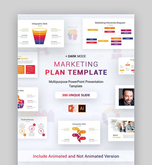 Marketing Plan Template PPT