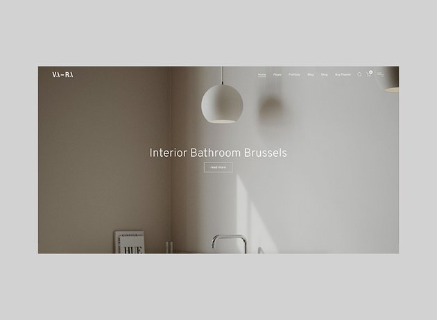 Vara - Fullscreen Architecture WordPress Theme