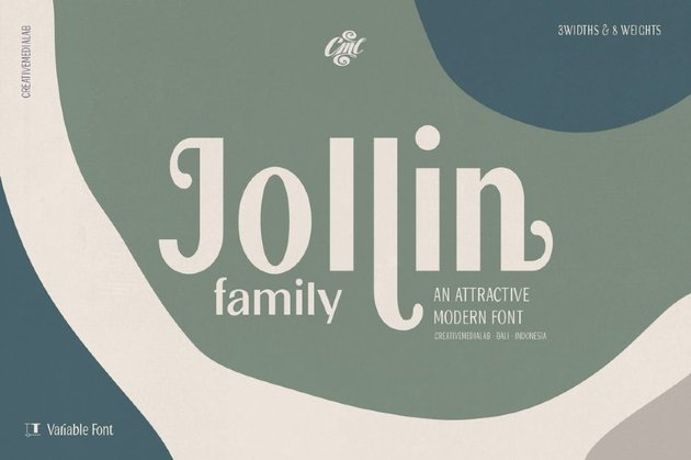 Jollin Family - Variable Font