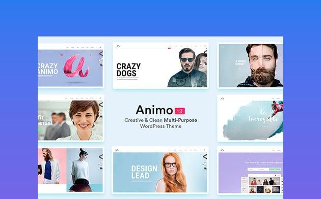 Animo – Creative WordPress Landing Page Template