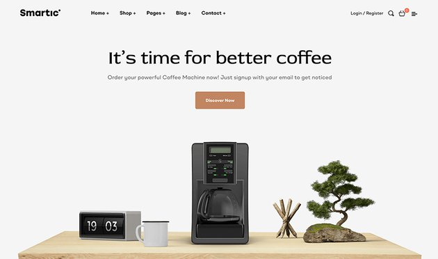 You can build a clean and effective landing page with this WordPress landing page template.