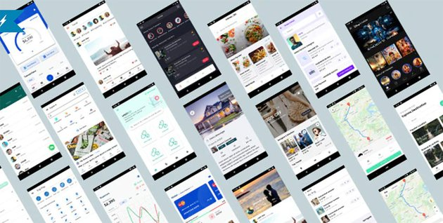 Ionic Mobile App Template Bundle