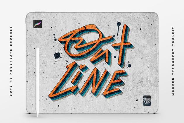 Procreate Line Art Brushes