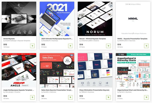 Here are the best premium business Keynote templates from GraphicRiver for 2021.