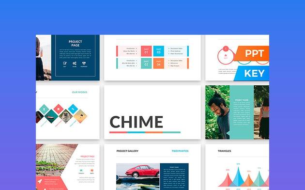 Chime - Fun Presentation Template