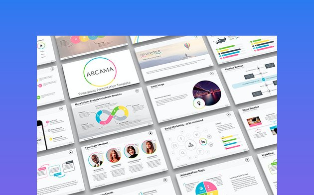 Arcama - Powerpoint Presentation Template
