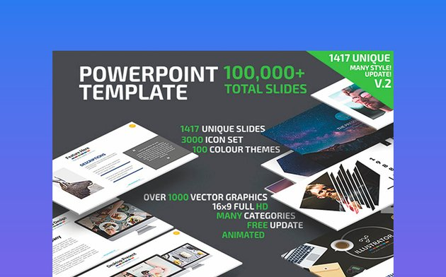 Flowchart PPT Powerpoint Presentation Template