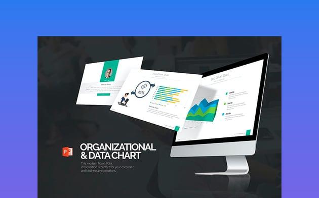 Organizational Data Flowchart PPT Presentation