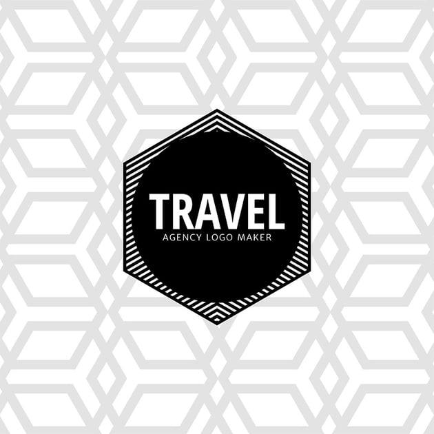 Minimalistic Travel Logo Maker