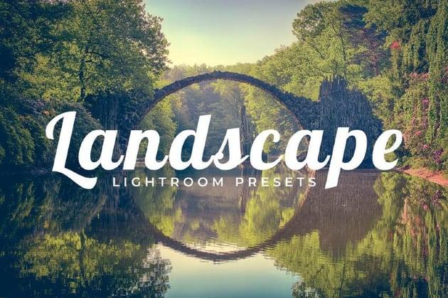 100 Lightroom Landscape Presets Pack