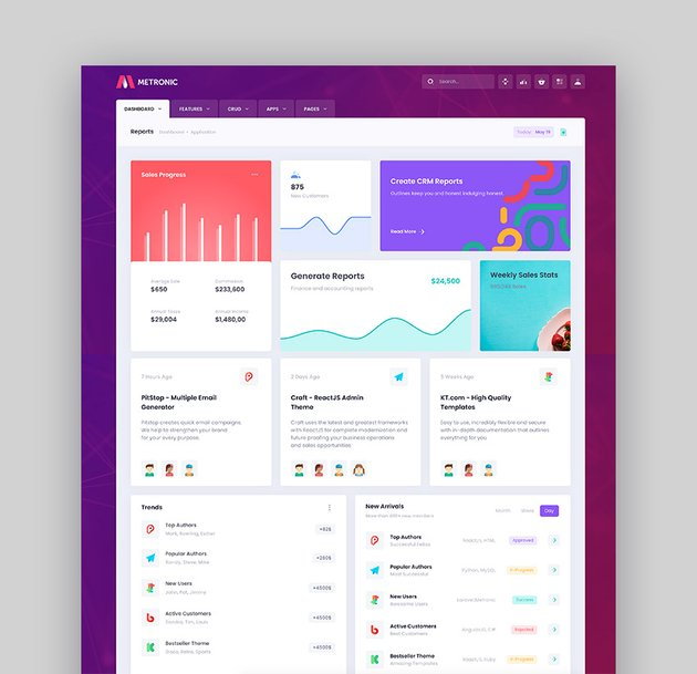 Metronic - Bootstrap Admin Template