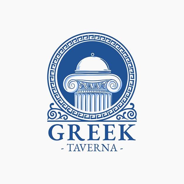 Greek Taverna Restaurant Logo