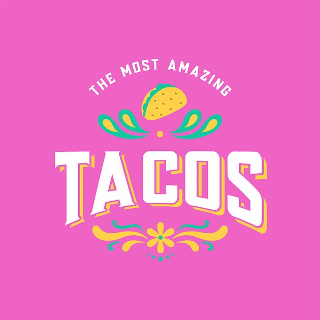 Taco Place Mexican Restaurant Logo