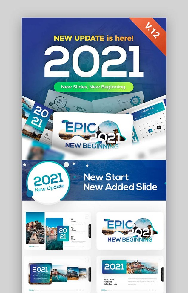 Epic Sport PowerPoint Template