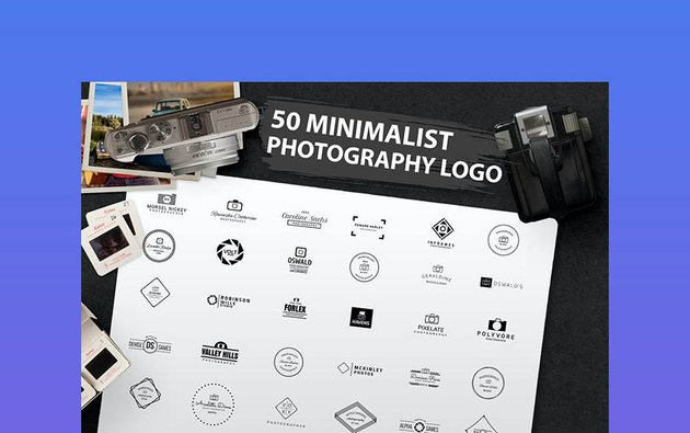 Minimalist Photography Logo Pack