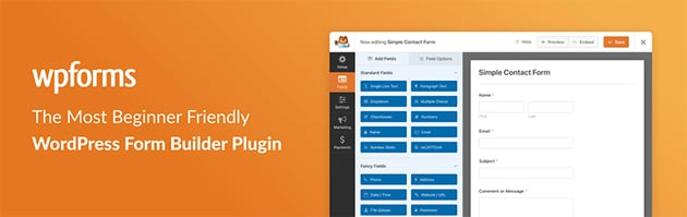 WPForms – Form Builder WordPress Plugin Free